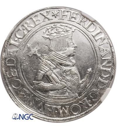 Austria (Holy Roman Empire). Taler no date, Vienna Mint, Ferdinand I 1521-1564, NGC MS 62