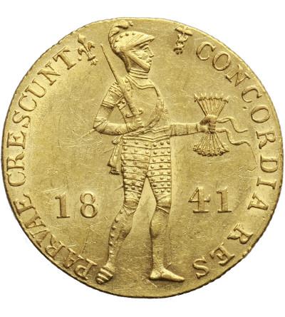 Holandia - Niderlandy. Dukat 1841, Utrecht. Wilhelm II 1840-1849
