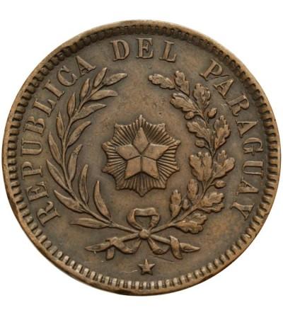 Paragwaj 2 centesimos 1870