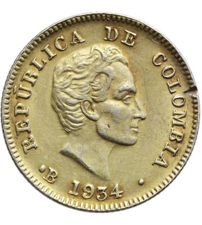 Kolumbia 10 Centavos 1934
