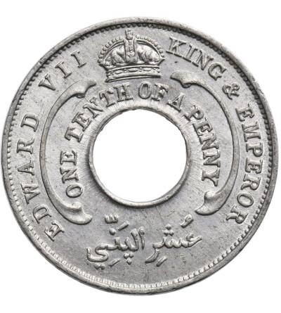 Brytyjska Afryka Zachodnia 1/10 Penny 1907, Edward VII