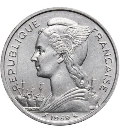 Francuska Somalia 5 franków 1959