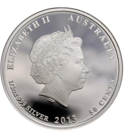 Australia 50 centów 2013 P, posum (multikolor) - Proof