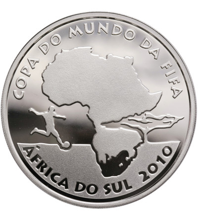 Brazylia 5 Reais 2010, Mundial RPA 2010 - Proof