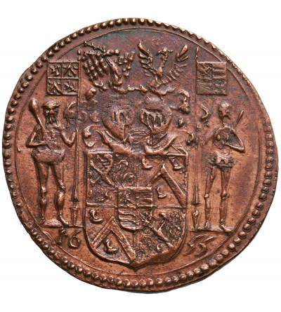 Niderlandy Południowe, Cu żeton 1655, Charles de Locquenghien zarządca kanału,