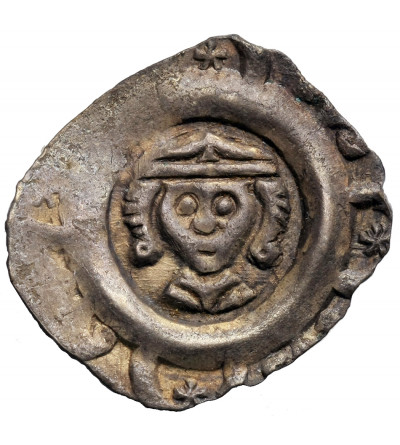 Niemcy. Norymberga Reichsmünzstätte, Ludwik II Bawarski 1268-1273. AR Pfennig