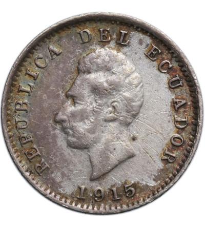 Ekwador 1/2 Decimo 1915