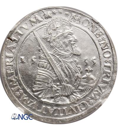Netherlands. Daventer, Campen, Zwolle. Taler (Karolusrijksdaalder) 1555, Karl V - NGC MS 61