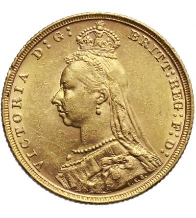 Australia Sovereign 1893 M, Melbourne
