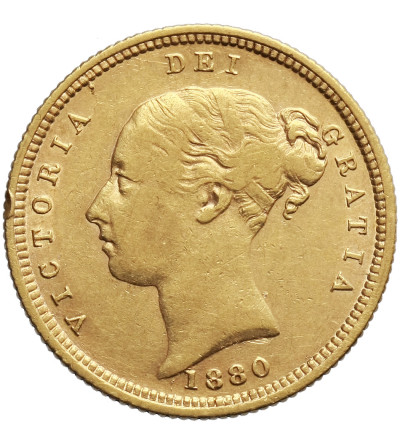 Australia 1/2 Sovereign 1880 S, Sydney