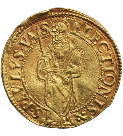 Papal States (Papale) Vatican. Scudo d' Oro bez daty (ca. 1534-1540), Paul III 1534-1549, Roma mint,