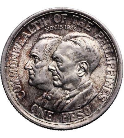 Philippines Peso 1936, Manila, Commonwealth Roosevelt-Quezano
