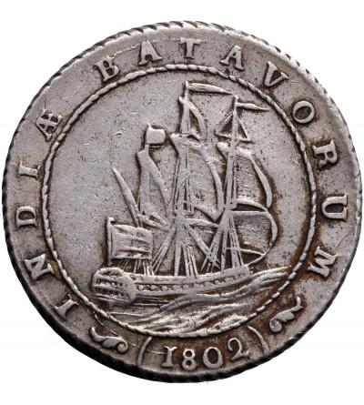 Wschodnie Indie Holenderskie 1 gulden 1802, Republika Batawska