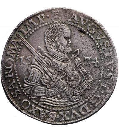 Germany. Saxony/Sachsen. Taler (Reichstaler) 1574 HB, Dresden, August 1553-1586