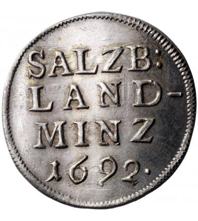Salzburg 4 krajcary (Batzen) 1692, Johann Ernst Graf von Thun und Hohenstein 1687-1709
