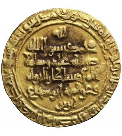 Abbasydzi. Kalifat Bagdad. AV Dinar AH 409 / 1018 AD, Madinat al-Salam. Buwayhid Sultan al-Dawla AH 403-415