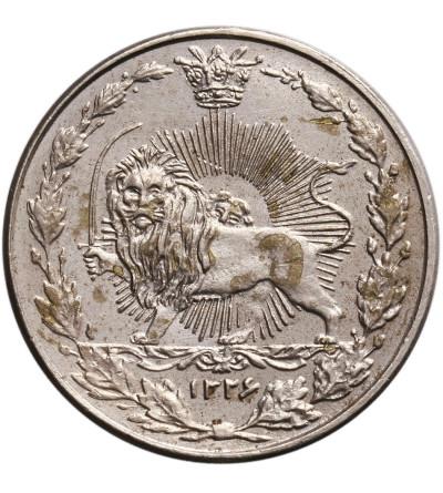 Iran 50 Dinarów AH 1326 / 1908 AD, Muzaffar al-Din Shah
