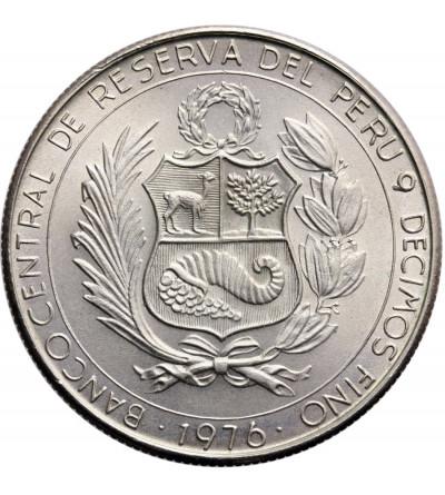 Peru 400 Soles 1976, LIMA, 150-ta rocznica bitwy pod Ayacucho
