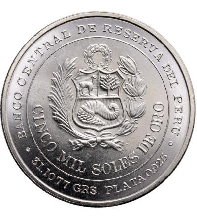 Peru 5000 Soles 1979, LIMA, 100-na rocznica bitwy pod Iquique