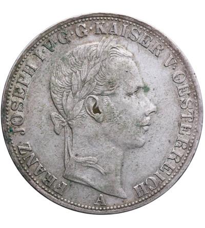 Austria 1 Taler (Vereinstaler) 1858 A, Wien, Franz Joseph I