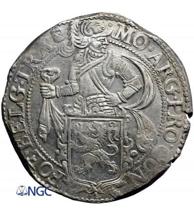 Niderlandy. Talar lewkowy (Leeuwendaalder / Lion Daalder) 1648, Utrecht - NGC MS 62