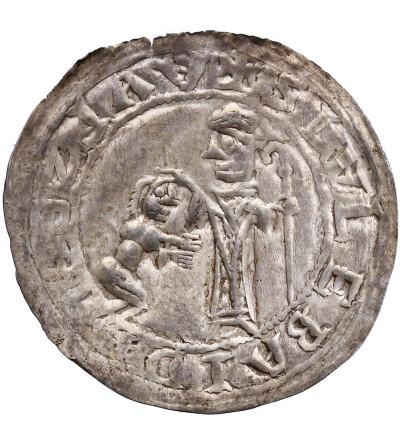 Polska. Bolesław III Krzywousty 1102-1138. Brakteat protekcyjny (pokutniczy)