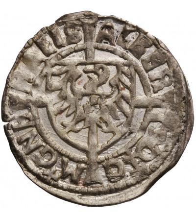 Zakon Krzyżacki. Albrecht von Hohenzollern 1511–1525. Grosz 1523, Królewiec
