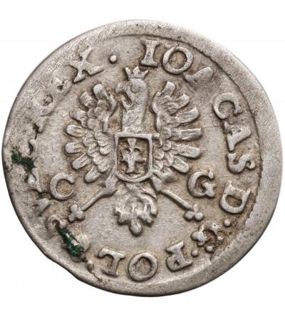 Polska. Jan Kazimierz 1648-1668. Dwugrosz 1651 CG, Bydgoszcz.