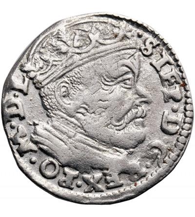 Poland/ Lithuania. Stefan Batory. Trojak (3 Grosze) 1586, Vilnius mint