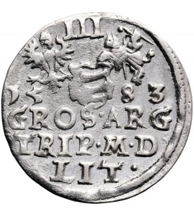 Poland/ Lithuania. Stefan Batory. Trojak (3 Grosze) 1583, Vilnius mint