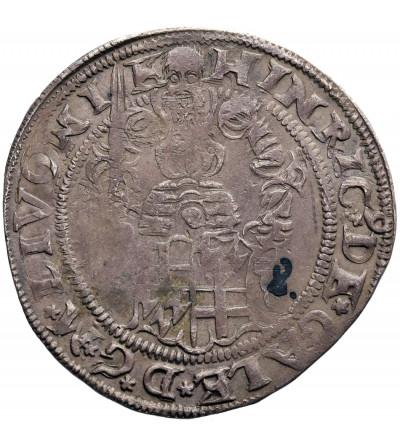 Livländischer Orden (The Livonian Brothers of the Sword). 1/2 Mark 1557, Riga, Henryk von Galen