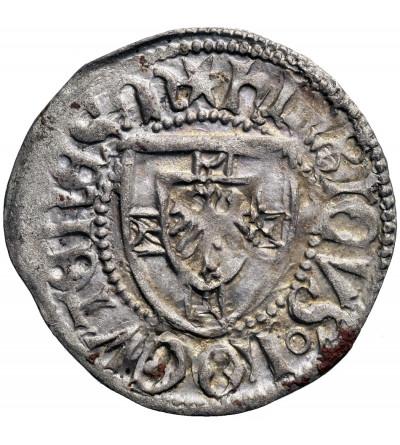 Zakon Krzyżacki. Henryk VI Reuss von Plauen 1467-1470. Szeląg bez daty (1468/69, Królewiec