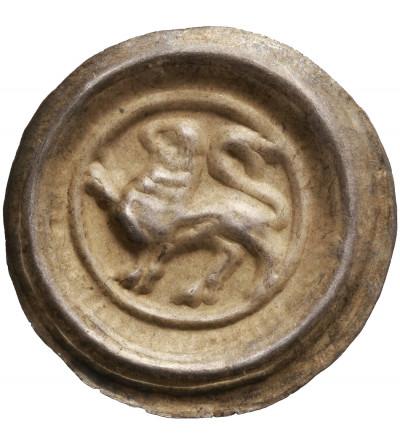 Braunschweig Lüneburg. Brakteat bez daty, Henryk Lew (Heinrich der Löwe) 1142-1195