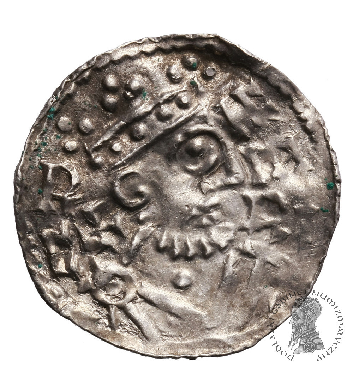Germany. Bayern. Augsburg Denar 1009/1024, Heinrich II 1002-1024