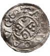 Niemcy. Bawaria. Augsburg Denar 1009/1024, Henryk II 1002-1024