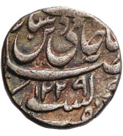 Indie - Awadh 1 rupia AH 1229 / YR 26, Muhammadabad Banaras, Shah Alam II