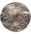 Niemcy. Esslingen Denar bez daty, Henryk II 1002-1024