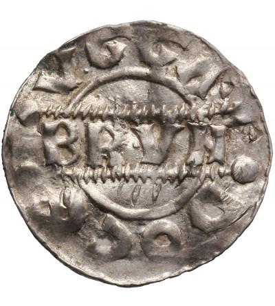 Niderlandy. Fryzja hrabstwo. Denar (Pfennig) bez daty, Bruno III 1038-1057