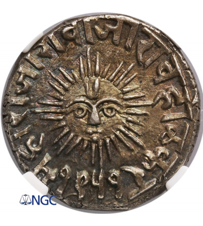 Indie - Indore 1 rupia VS 1951 / 1894 AD - NGC MS 64+