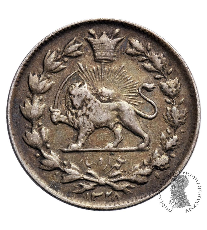Iran 1000 Dinars (Kran) AH 1328 / 1910 AD, Sultan Ahmad Shah 1909-1925 AD