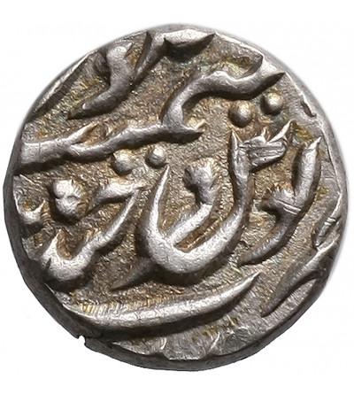 Indie - Hyderabad 1/16 rupia AH 1300-1307 / 1882-1889 AD, Mir Mahbub Ali Khan II