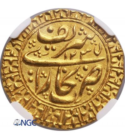 Buchara AV Tilla AH 1235 / 1821 AD - NGC MS 64