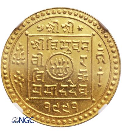 Nepal AV Mohar VS 1991 / 1934 AD - NGC MS 66