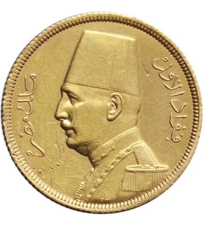 Egipt 50 piastrów AH 1348 / 1929 AD, Fuad I