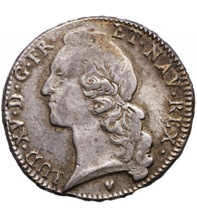 Francja Ecu 1767 & (Aix), Ludwik XV 1715-1774