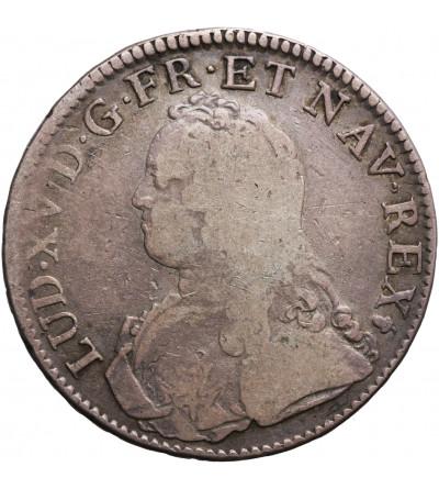 Francja Ecu 1726 S, Reims, Ludwik XV 1715-1774