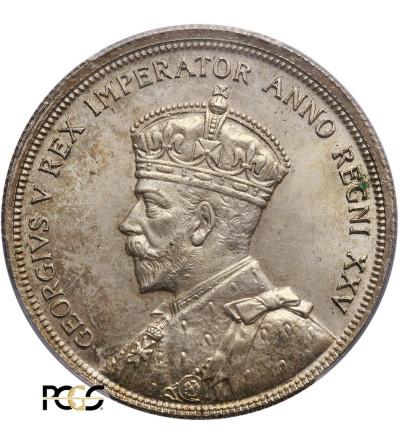 Kanada 1 dolar 1935, Jerzy V - PCGS MS 64