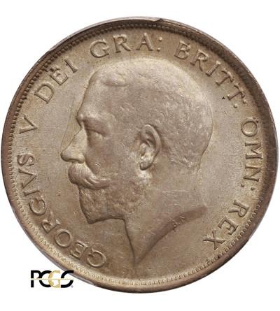 Wielka Brytania 1/2 korony 1919, Jerzy V - PCGS MS 62