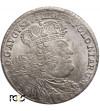 Polska, August III Sas. Ort (18 groszy) 1755 EC, Lipsk - PCGS MS 62