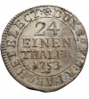 Poland / Saxony. Friedrich August II 1733-1763. Groschen - 1/24 Taler 1753 FWoF, Dresden